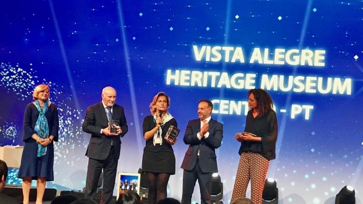 Resultado de imagem para Turismo Centro de Portugal saúda prémios europeus para Museu da Vista Alegre e Centro de Negócios do Fundão